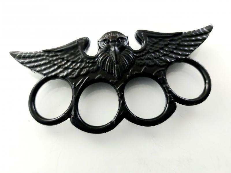 Метален тежък бокс с черно тефлоново покритие - Орел