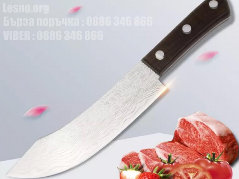 Професионален кухненски нож с незалепващо покритие-dm-05