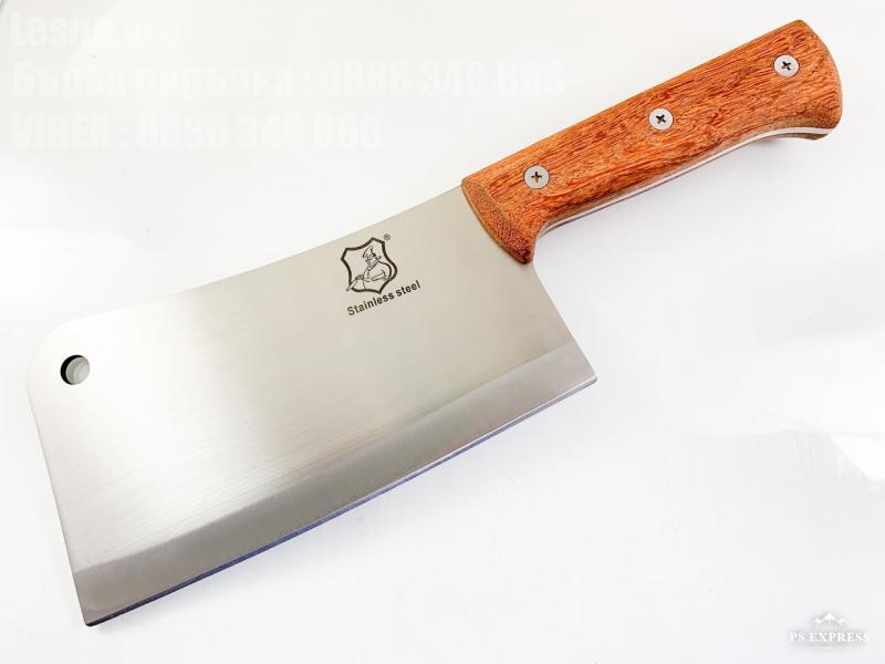 Кухненски сатър масивен и тежък за рязане на месо и кости SC-3