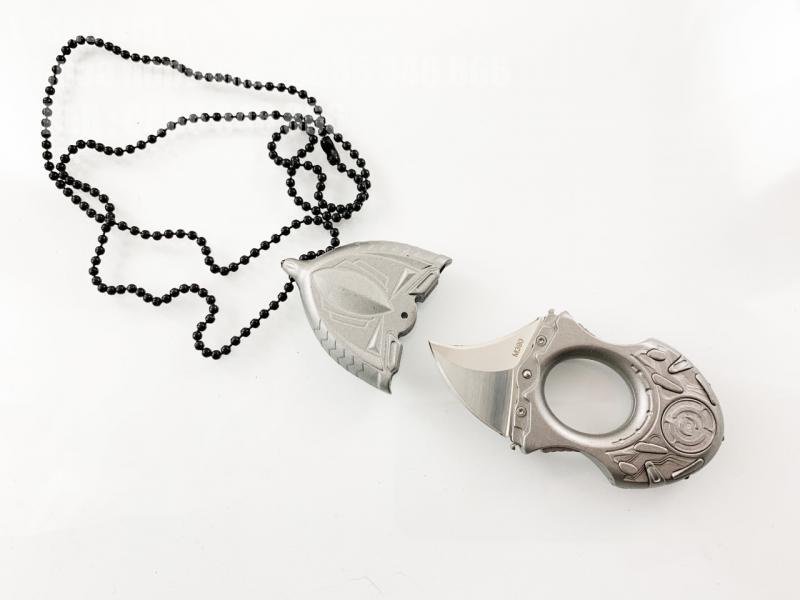 Mедальон бижу кама уникат ,метална двустранно заточена , стомана М390