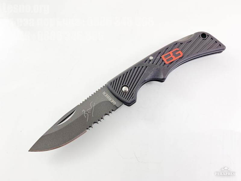Сгъваем малък джобен нож с 1/2 серетирано острие Gerber
