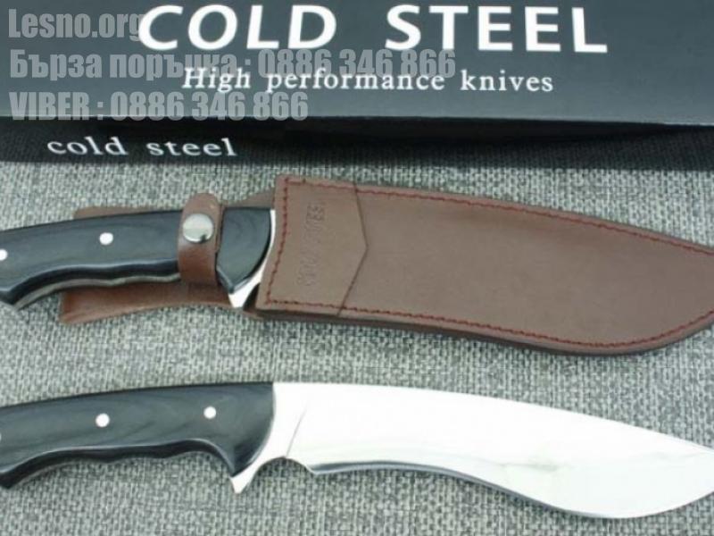 Ловен масивен тежък нож COLD STEEL High performance knife