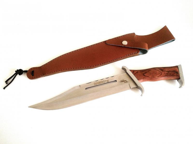 Rambo first blood part III knife Bowie Ловен масивен боен нож