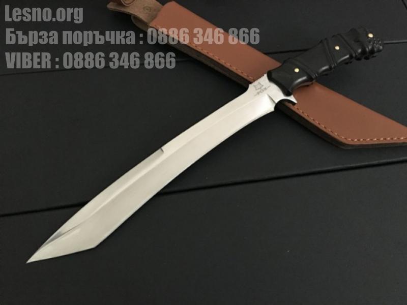 Ловен нож от масивна закалена стомана Fox knife-Big Knife