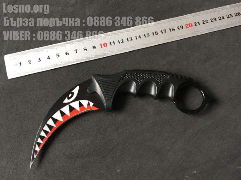 Карамбит колекционерски нож cs go model 8