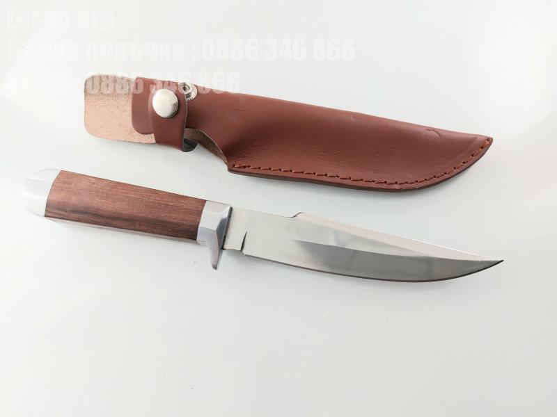 Ловен нож  с кожена кания Boda Stancess