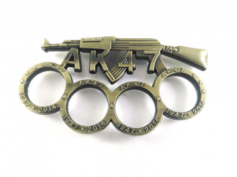 Масивен метален бокс за самозащита или колекция АК-47 1947-2014
