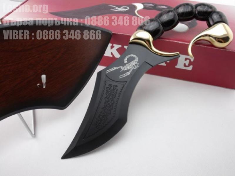 Колекционерски нож с форма и дизайн на Скорпион подходящ за подарък