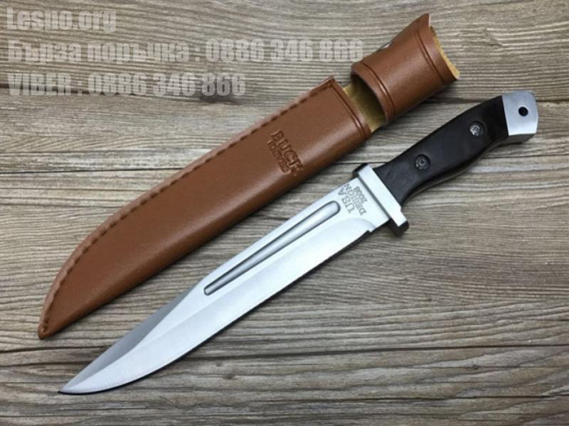 Масивен ловен нож много добре балансиран - Buck USA Design-Големия