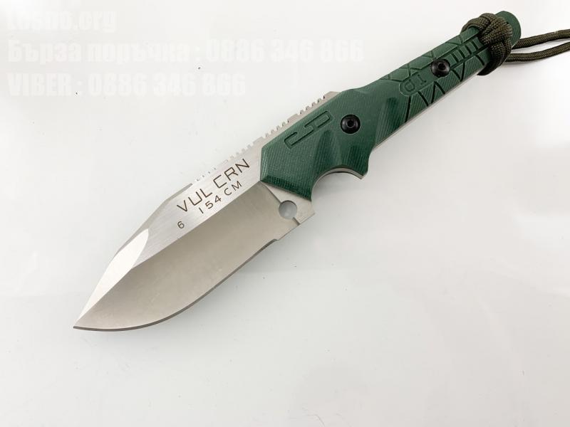 Малък нож с фиксирано острие VULCRN VUL CRN 154 Blade G10