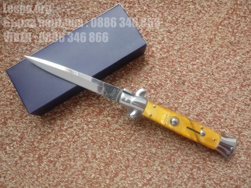 Стилето сгъваем полуавтоматичен колекционерски нож - Италия