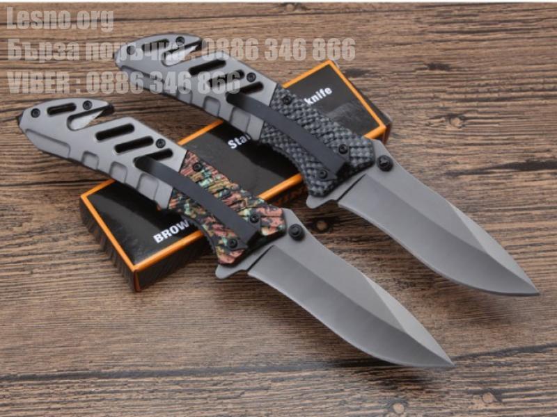 Browning A339 pocket knife два модела с резец за въжета