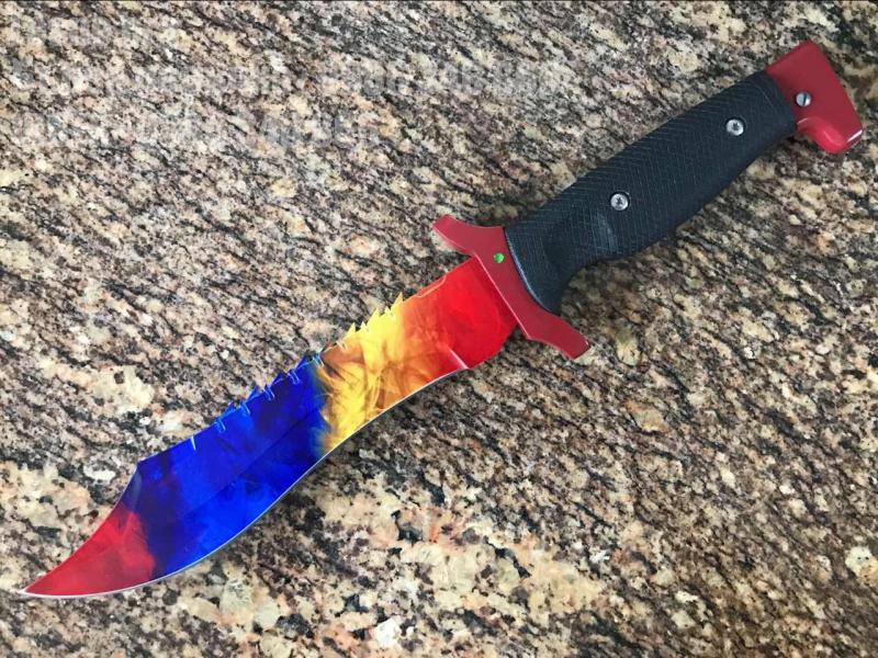 Колекционерски ловен нож Bowie CS:GO тактически нож №1