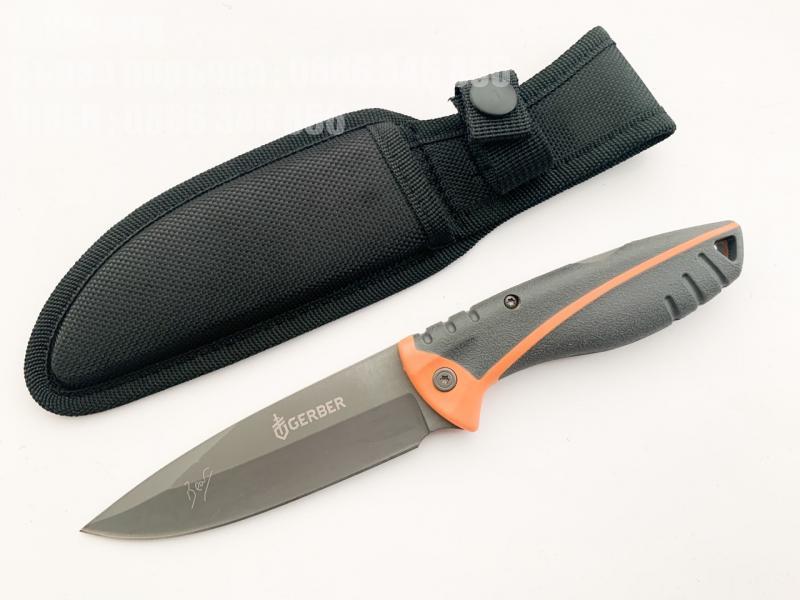 Hunting gerber folding sheath model 31 000752,ловен нож с фиксирано острие и калъф за колана