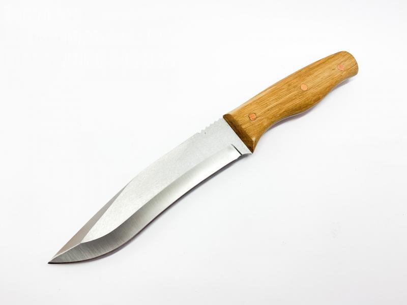 Ръчно направен ловен нож от хром ванадиева стомана  D2 стомана