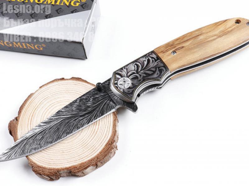 CHONG MING Chuangming CM77 полуавтоматичен сгъваем нож 3D принт