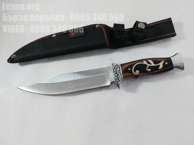 Великолепно балансиран ловен нож USA Columbia G29 Hunting knife  за Америсканския пазар