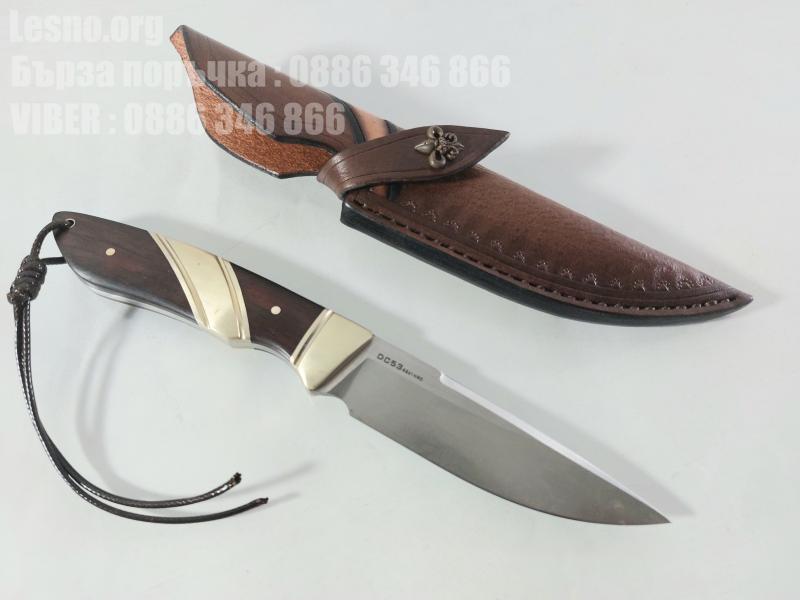Стилен класически ловен нож фултанг стомана DC53