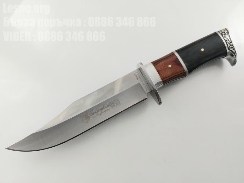 USA Columbia G47 Bowie Hunting knife Ловен нож метален масивен за Америсканския пазар