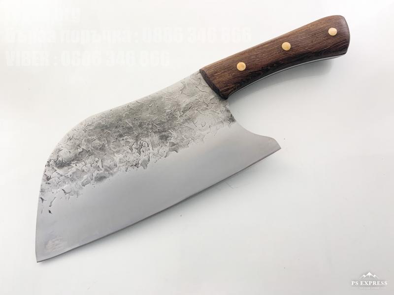 Grandsharp  Full Tang Carbon Steel Knife High Quality ръчно направен кухненски сатър