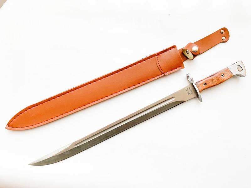 Армейски класически нож (щик) ссср ак-47 , 50 см