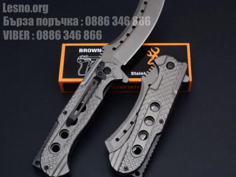 Сгъваем полуавтоматичен джобен нож Browning 363