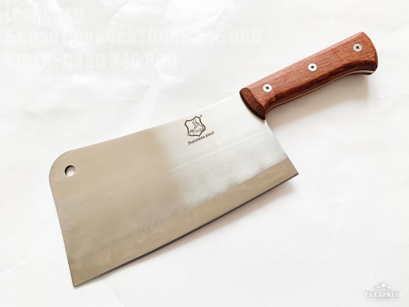 Кухненски сатър масивен и тежък за рязане на месо и кости SC-1