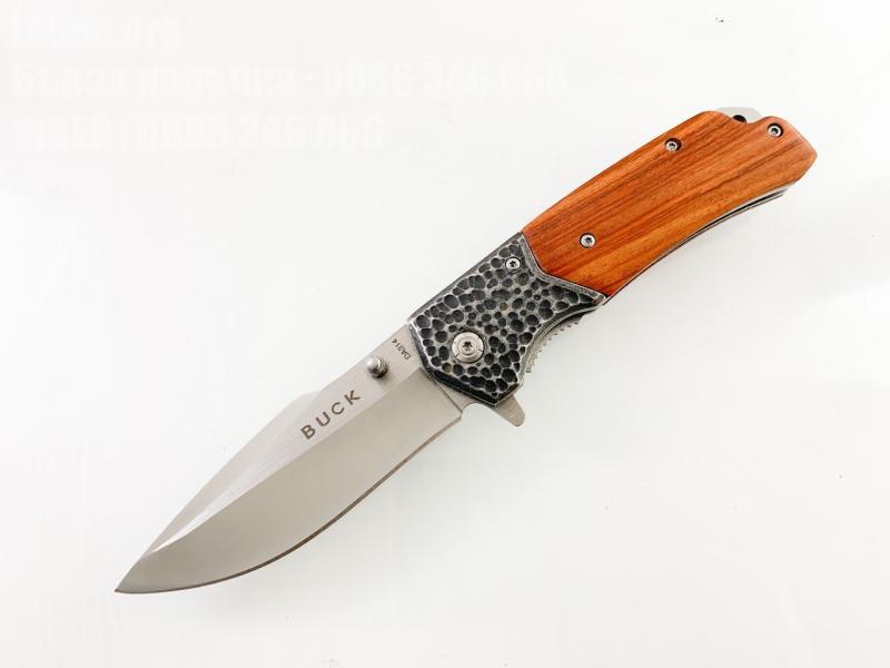 Сгъваем автоматичен джобен нож Buck DA134
