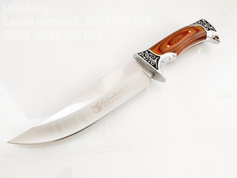 USA Columbia G56 Bowie Hunting knife Ловен нож метален масивен за Америсканския пазар