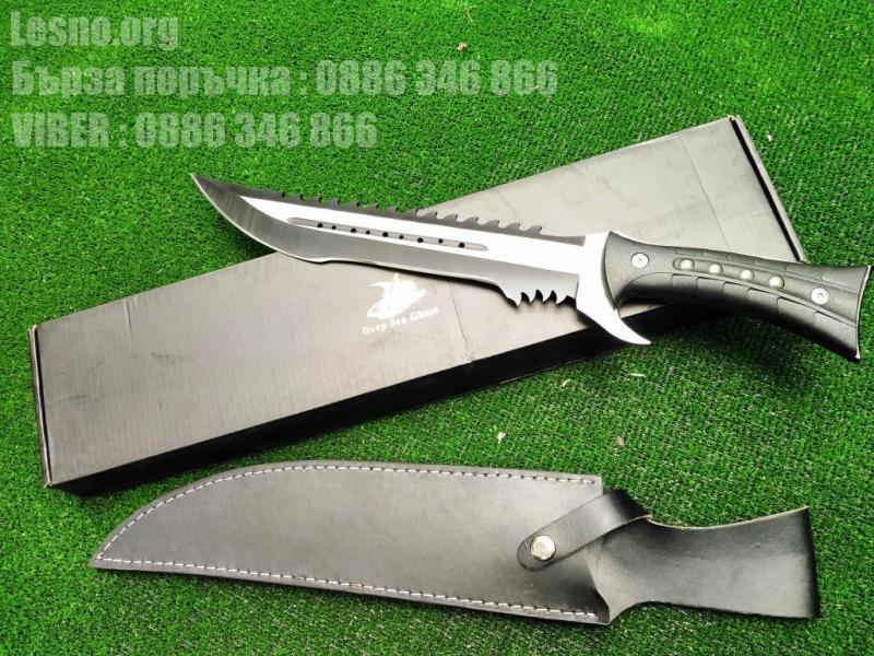 Ловен нож дизайн и форма на Акула