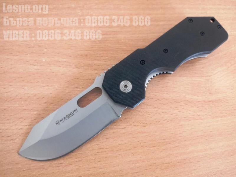 Сгъваем  джобен нож Magnum Boker с клипс за носене на колана