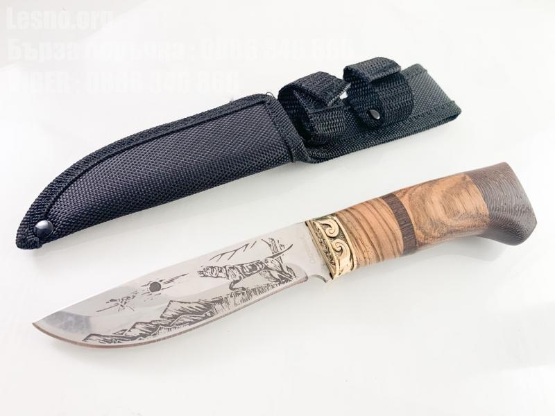 Руски ловен нож Кандар стал 65х13