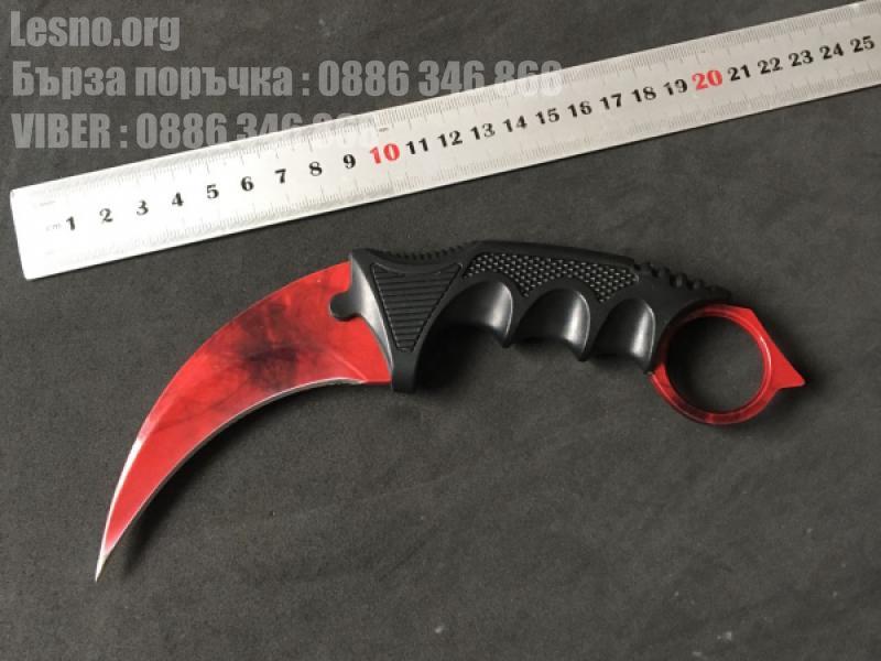 Карамбит колекционерски нож cs go model 6