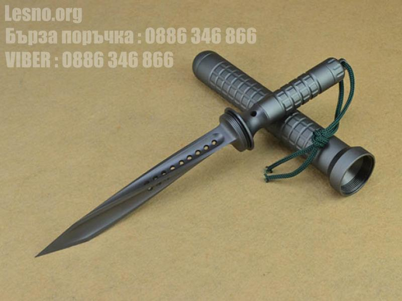 Microtech Jagdkommando Tan Tri-Edge Fixed Blade 105-1TA