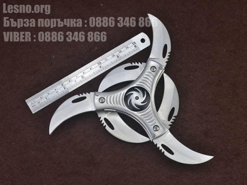 Шурикен twister spiner 6 BLADED FOLDER KNIFE
