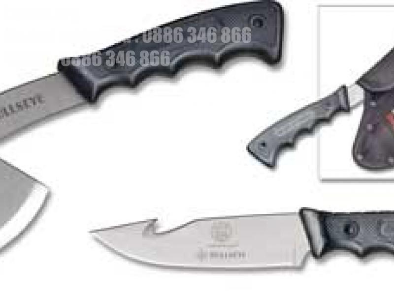 Ловен нож и брадвичка с калъф  Smith and Wesson: S&W Bullseye Combo