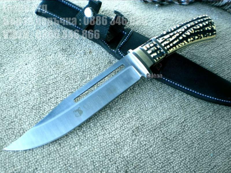 Ловен нож с калъф Columbia G10
