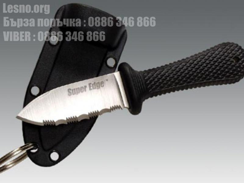 Тактически малък нож за скрито носене Gold Steel с пластмасов калъф