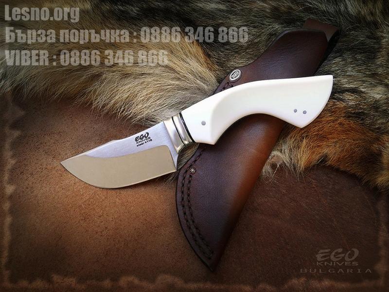 Малък нож за дране ръчна изработка фултанг конструкция