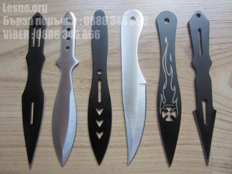 Ножове за хвърляне 14 СМ-комплект 6 броя