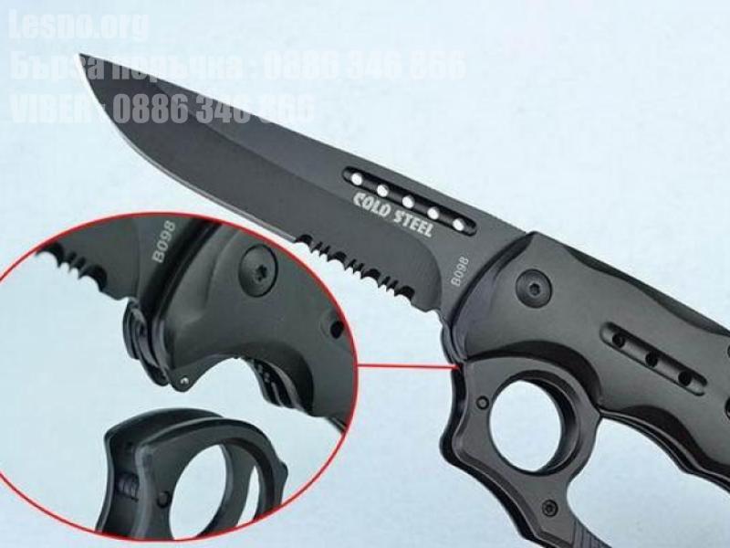 Сгъваем нож с бокс COLD STEEL B098  Код: 090