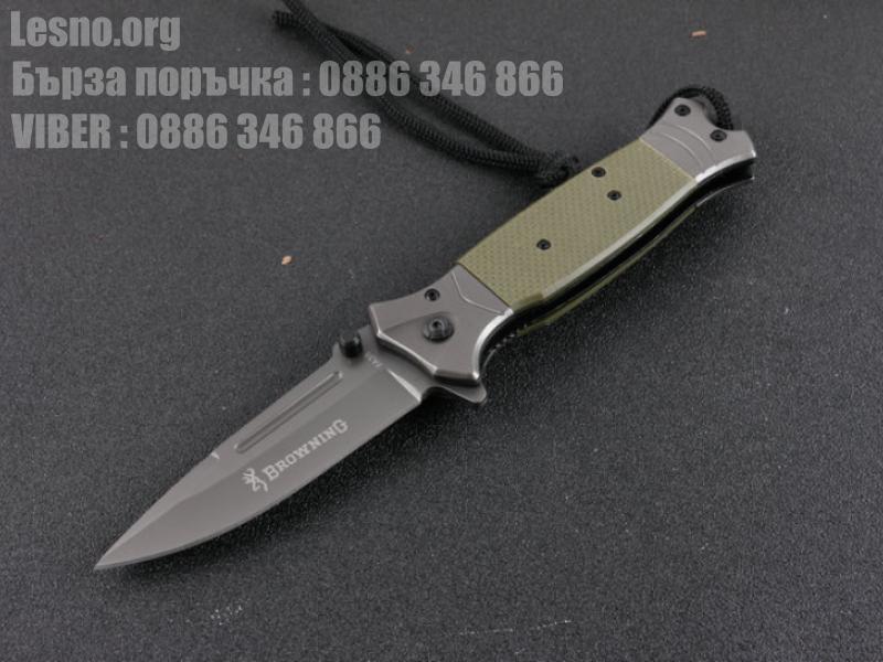 Сгъваем полуавтоматичен нож Browning FA38
