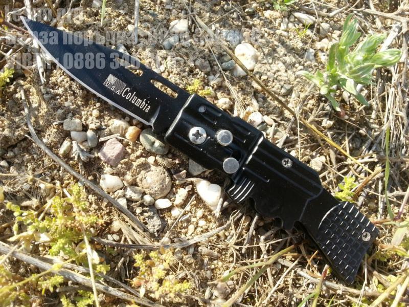 Сгъваем полуавтоматичен джобен нож с форма на пушка Columbia