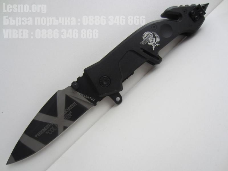 Сгъваем нож extremaratio отваря се автоматично с едната ръка
