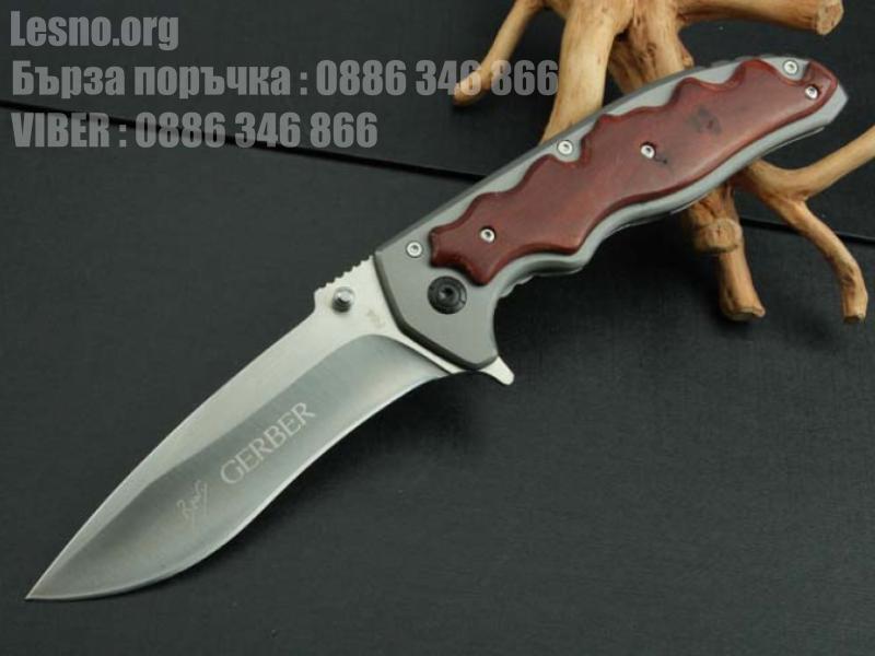 Сгъваем нож с клипс gerber f64 - 23 см