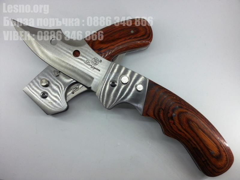 Колекционерски голям 25 сънтиметров полуавтоматичен джобен нож