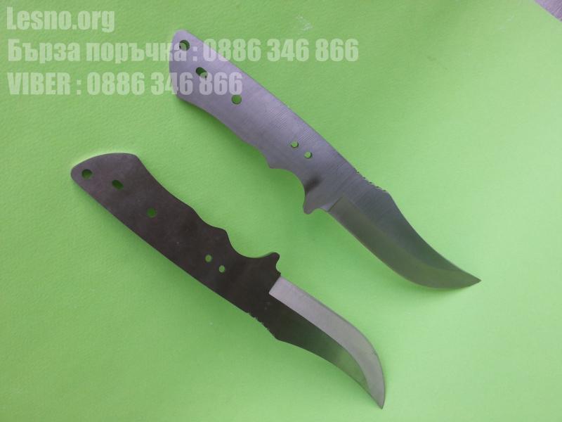 Заготовка за ловен нож - стомана 440c- малка25 см